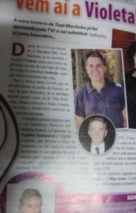 Dscf4005 A Revista &Quot;Mariana&Quot; Caiu Na Nossa Mentira De 1 De Abril