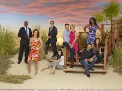 Private Practice Season4 Cast 02 Regressos E Estreias Na Fox Life Em Abril