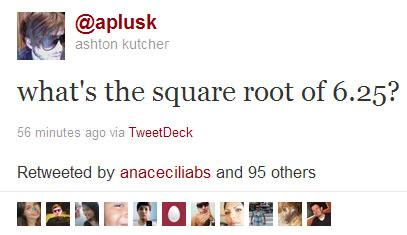 Ashtontwit Ashton Kutcher Substitui Sheen