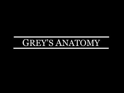 """Grey S Anatomy Greys Anatomy Preto  """"Anatomia De Grey"""" Com Nova Personagem E """"Promos"""""""