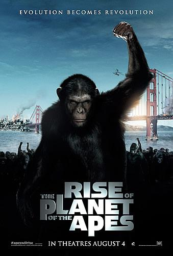 The Rise Of The Planet Of The Apes Poster 3 Rise Of The Planet Of The Apes