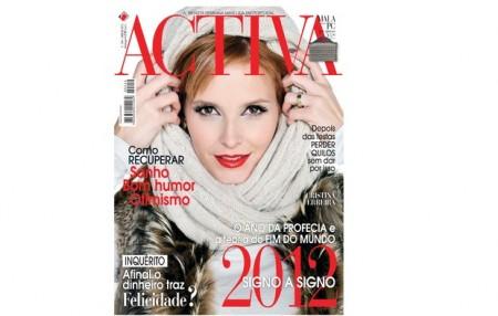 Cristina Ferreira Activa Cristina Ferreira Capa Da Revista &Quot;Activa&Quot; De Janeiro