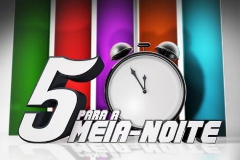 5 Para A Meia Noite Novo «5 Para A Meia-Noite» Com Uma Mão Cheia De Convidados