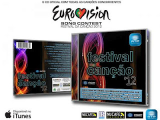 CD Festival da Canção 2012