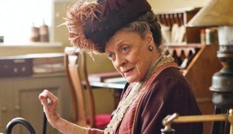 109 Maggie Smith Maggie Smith Assume Possível Saída De «Downton Abbey»