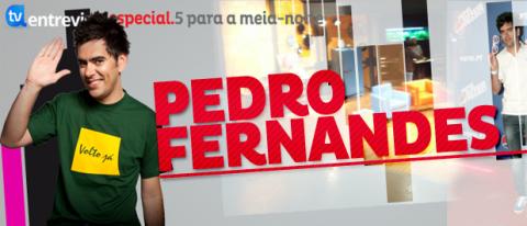 A Entrevista Pedro Fernandes Pedro Fernandes Confirma Que A Rtp1 Quer Continuar Com O «5 Para A Meia-Noite»