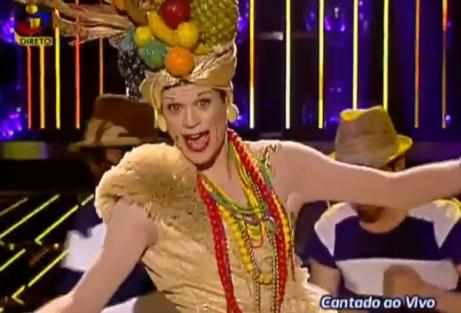 Ff Carmen Miranda Ff: «[&Quot;A Tua Cara Não Me É Estranha&Quot;] Vai Fazer-Me Evoluir Na Carreira»