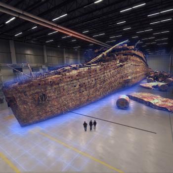 Titanic fuera del agua-virtual