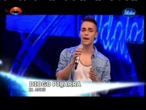 0 Diogo Piçarra Acredita Que Pode Vencer O «Ídolos»