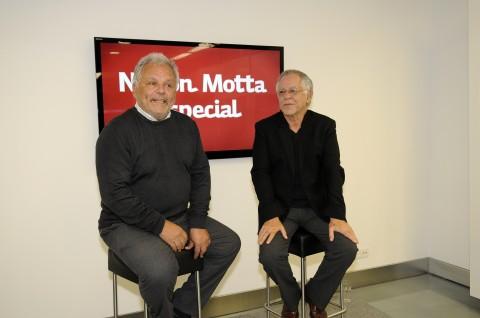 Ricardo Pereira e Nelson Motta