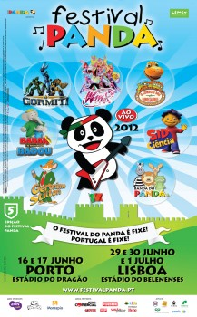 cartaz FESTIVAL-PANDA 2012