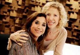 Marília Gabriela e Marisa Orth