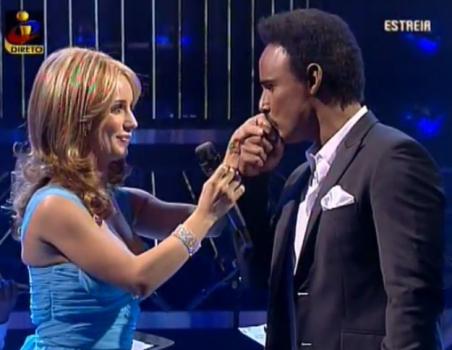 Luciana Abreu e Ricardo Soler