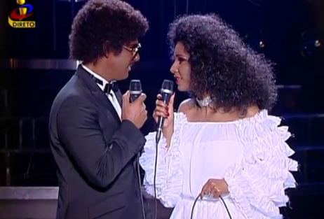 Ricardo Soler E Luciana Abreu Luciana Abreu E Ricardo Soler Vencem Segunda Gala De «A Tua Cara Não Me É Estranha - Duetos»