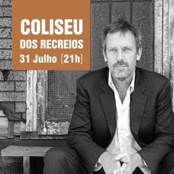 Hugh House Protagonista De «Dr. House» Dá Concerto Em Lisboa