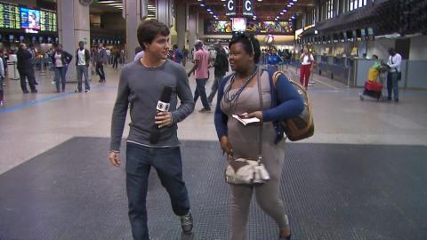 Fernando David com a angolana Madalena