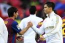Messi Ronaldo Liga Espanhola Messi Elogia Exibição Histórica De Cristiano Ronaldo: &Quot;Teve Uma Noite Mágica&Quot;