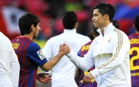 Messi Ronaldo Liga Espanhola