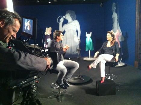 Zeca Camargo entrevista a cantora Maria Rita