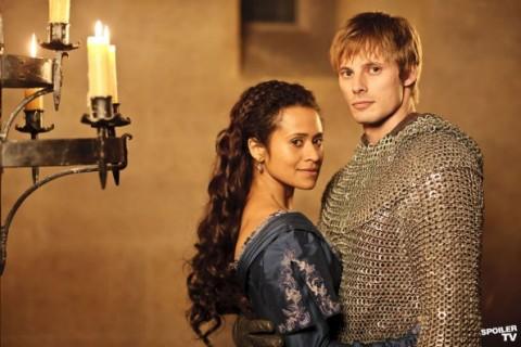 Merlin Series 5 Gwen Arthur 030812 595 Watermark Quinta Temporada De «Merlin» Com Trailer Alargado