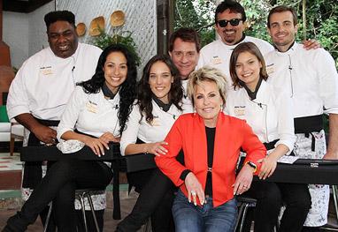 Top Chef Max E Milena Atores Mostram Dotes Culinários