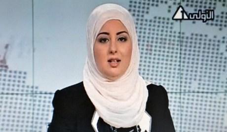 4 Nic6128612 Mulher Velada Apresenta Pela Primeira Vez Jornal Na Televisão Pública Do Egito