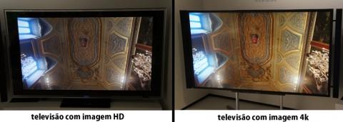 4K Detalhe Tetohd Nova Televisão 4K Permite Ver Dois Programas Ao Mesmo Tempo