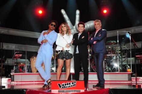 Carlinhos Brown Cláudia Leitte Daniel Lulu Santos The Voice Brasil «The Voice Brasil» Infantil Pode Ser Produzido Pela Globo
