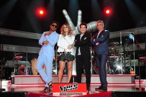 Carlinhos Brown Cláudia Leitte Daniel Lulu Santos The Voice Brasil