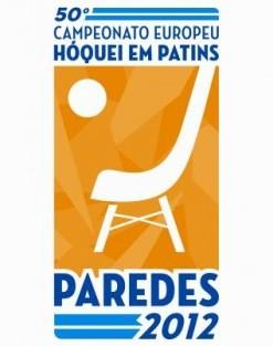 Logo Paredes2012 Rtp Transmite Campeonato Europeu De Hóquei Em Patins