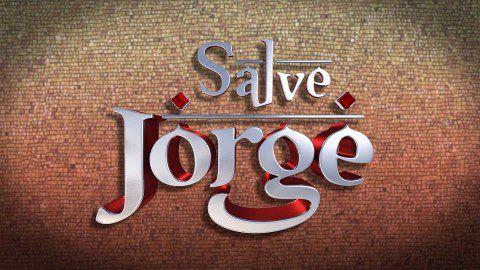 Logótipo original de «Salve Jorge», na versão exibida pela TV Globo.