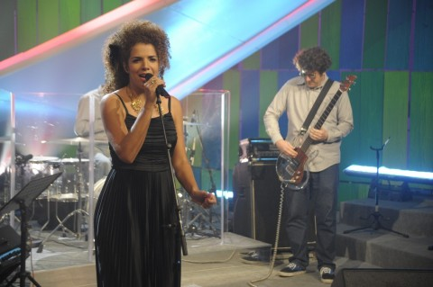 Vanessa Da Mata Vanessa Da Mata Canta No «Som Brasil»