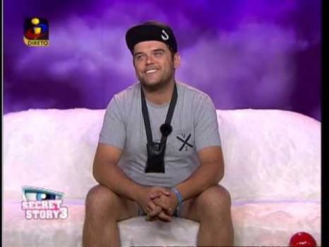 Helio Ss3 Hélio Continua Nomeado Em «Casa Dos Segredos 3»