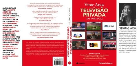 Livro Vinte Anos de Televisão Privada em Portugal