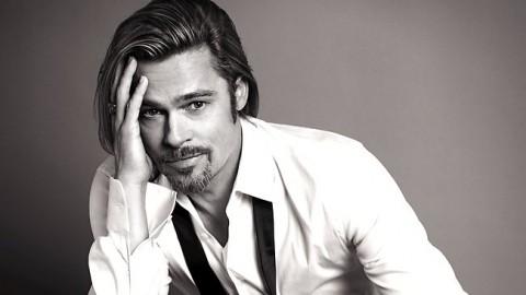 456042 brad pitt for chanel no 5 Brad Pitt é o primeiro rosto masculino de um anúncio do Chanel No. 5