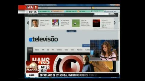 A Televisão Edição da Manhã SIC Notícias