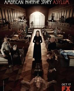 American Horror Story Poster Asylum [At.] Fox Estreia Segunda Temporada De «American Horror Story»