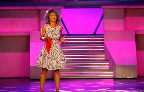 Luciana Abreu Gala da SIC Luciana Abreu é convidada do «Querida Júlia»