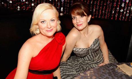 Tina Fey Right And Amy Po 008 Golden Globes Com Melhor Audiência Em Seis Anos