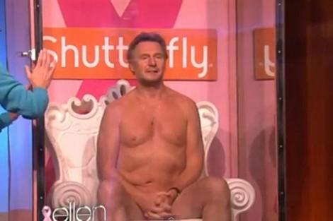 Liam Neeson 3 Ellen Rep Liam Neeson Despe-Se, Sem Preconceitos, Por Uma Boa Causa (Com Vídeo)
