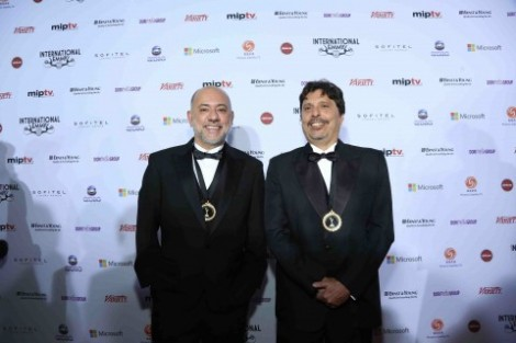 Claudio Torres E Mauro Wilson.jpg Ficção Da Tv Globo Galardoada No International Emmy Awards