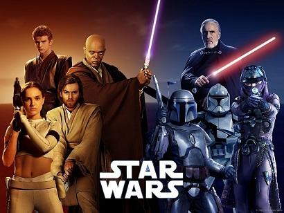Star Wars Syfy Emite Filmes «Star Wars»