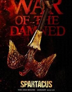 Spartacus Poster 404X572 Fox Aposta Na Promoção De «Spartacus: War Of The Damned»