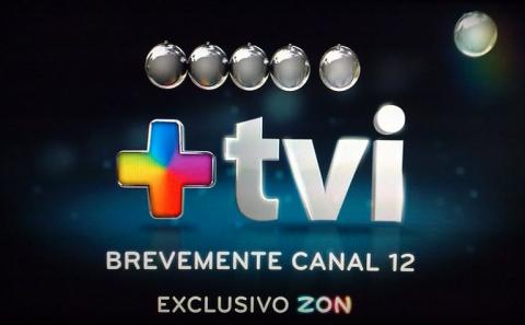 +TVI +TVI já é promovido no canal 12 da ZON