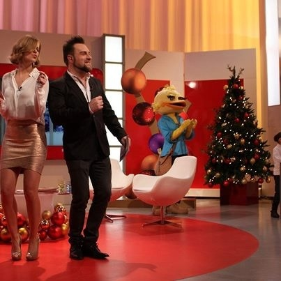 Nuno eiro, Leonor Poeiras, Natal Feliz TVI
