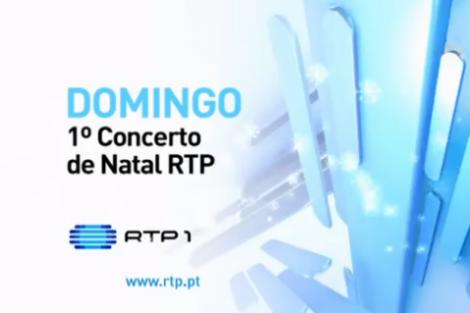 Concerto De Natal Rtp Este Domingo, Há «1.º Concerto De Natal Rtp»