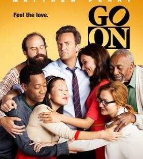 Go On Season 1 Nbc 2012 Poster Reunião De «Friends» Em «Go On»