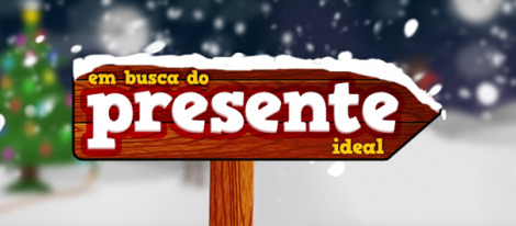 O Presente Ideal Logo Em Busca Do Presente Ideal - Especial Séries