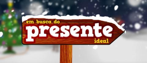 O presente ideal logo