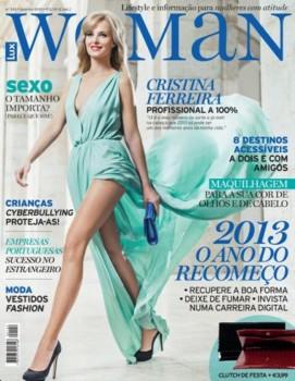 cristina ferreira woman Cristina Ferreira é a capa da revista Lux Woman
